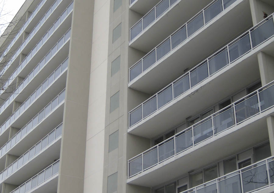 Tangent building systems for 200 rideau terrace